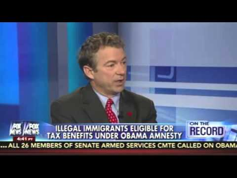Rand Paul backs bill by Kelly Ayotte to stop illegals from getting tax refunds