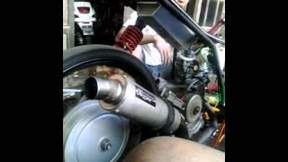 Drag jepara matic 150 cc