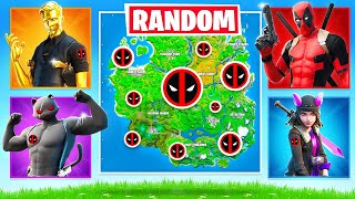 RANDOM BOSS Deadpool CHALLENGE (Fortnite Arena)
