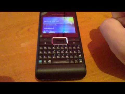 Sony Ericsson Aspen test
