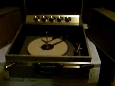 Motorola SH17GL Stereo record player