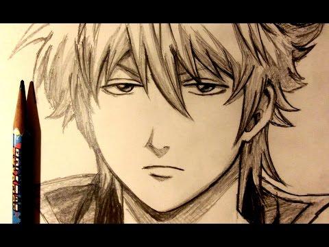 ASMR | Pencil Drawing 54 | Sakata Gintoki (Request)