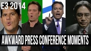 Most awkward press conference moments of E3 2014