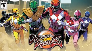 MIGHTY MORPHIN POWER RANGERS | Dragon Ball FighterZ Mod [PC - HD]