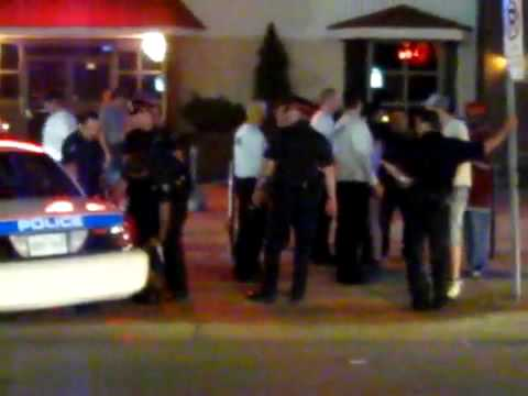 This video was recorded by Charles Leblanc ( http://charlesotherpersonality.blogspot.com/) in August 2009. It shows Fredericton Police beating up a soldier. ...
