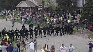 Riot Police Shut Down Insane College Block Party