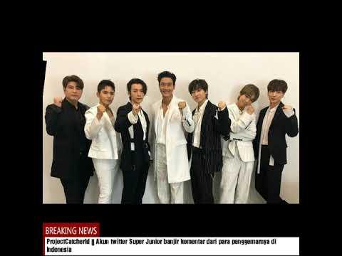 Super Junior Nge-Tweet Menggunakan Bahasa Indonesia