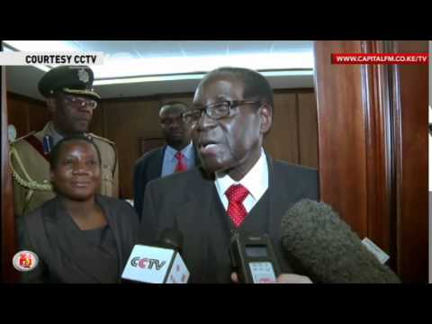 Robert Mugabe named new African Union chairman