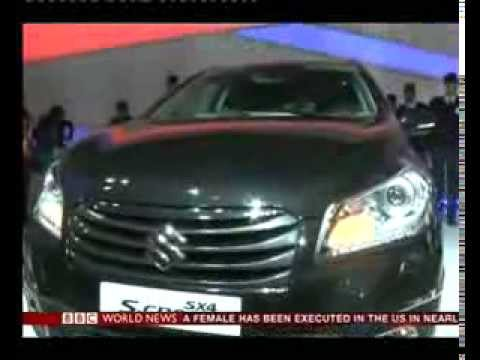 India's car market in Delhi Auto Show