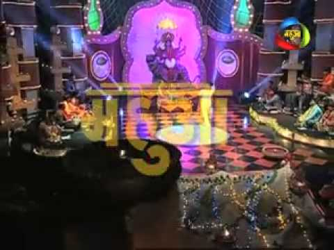 dwariya Par Khada Pujriya Durga Maa's Songs By Bhojpuri Singer On Mahuaa Tv- Navaratri 2013 video