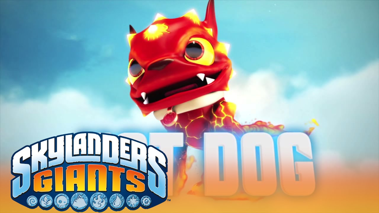 Meet The Skylanders  Hot Dog