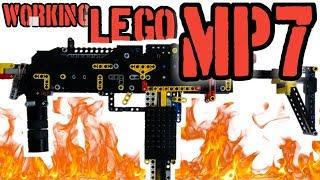 Lego gun [6] working Lego MP7