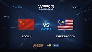 download musica RockY против Fire Dragoon Первая карта WESG 2017 Grand Final