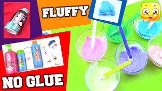 Jellyrainbow viyoutube fluffy slime without glue borax liquid starch detergent eye drops make slime ccuart Choice Image