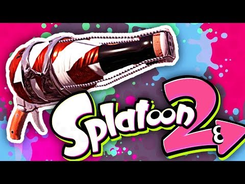 NEW SQUEEZER WEAPON! Splatoon 2 Weapon Review [Turf War Gameplay]