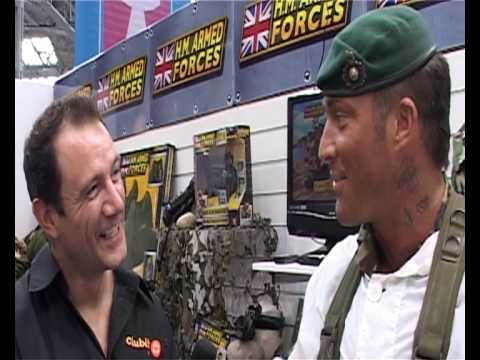 Clubit TV at London Toy Fair 2010 - H.M. Armed Forces review