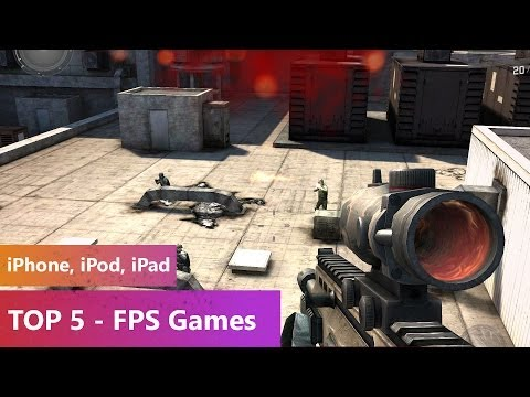 TOP 5 - FPS Games 2013-2014 (iPhone. iPod. iPad)