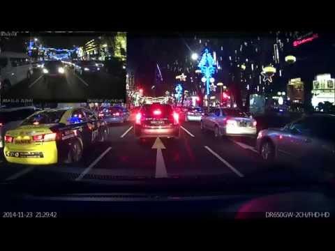 Video compilations for BlackVue DR650GW-2CH car dash cam