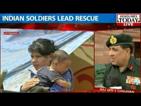 Nepal Earthquake: Indian Air Force, Army Carry Out Rescue Operation video