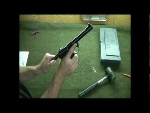 Ruger MK III 22-45 Simple Disassembly and Reassembly