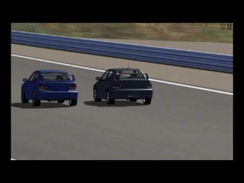 Mitsubishi Lancer Evolution Ix Gsr �05. rFactor - Evo IX vs Impreza