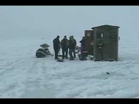 Rotary ice fishing derby on lake winnipesaukee nh 2008 for Lake meredith fishing report