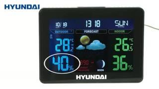 Meteostanice hyundai ws 8230