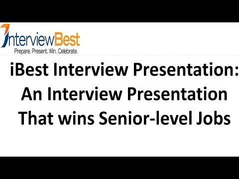 A Senior Level  Interview Presentation That Wins Interviews