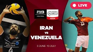 Iran v Venezuela - 2016 Men39s World Olympic Qualification Tournament