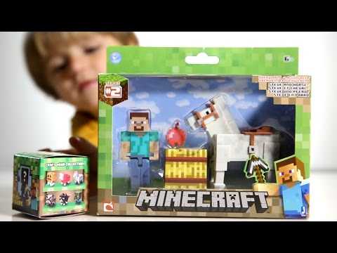 Minecraft Toys Steve and Horse