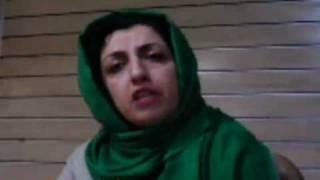 مصاحبه با نرگس محمدی- در مورد اخراج وی ازکارش