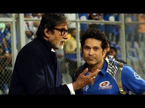 IPL 8: Big B & Sachin Tendulkar Cheer for Mumbai Indians