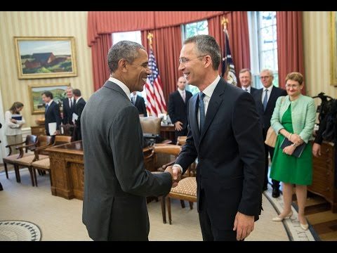 Joint Press Statements by US President Obama and NATO Secretary General Stoltenberg - 26 MAY 2015
