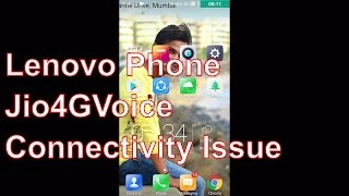 Hindi | Lenovo Phones Jio SIm Connectivity  Issue- Probelm Solved