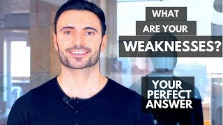 What Are Your Weaknesses? - Interview Question (Sample Answers and Examples Included)