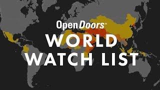 OpenDoors - World Watch List 2017