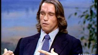 Arnold Schwarzenegger: Women Can Weightlift to Get Fit, Part 1 Johnny Carson