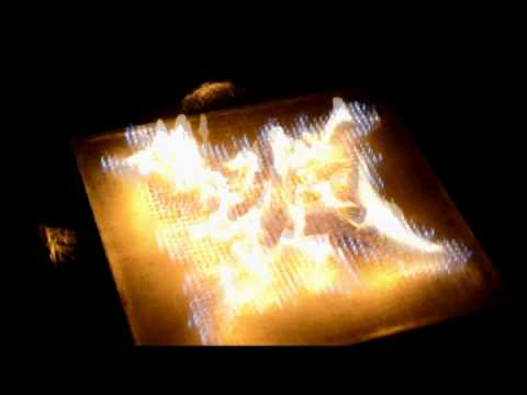 Pyro Board, una tableta de fuego que funciona con música
