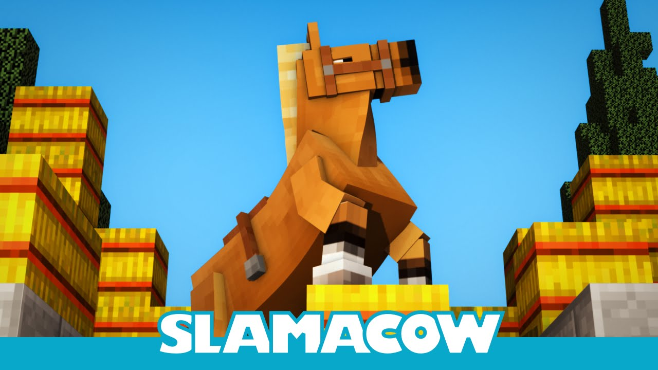 Hay's for Horses - Minecraft Animation - Slamacow