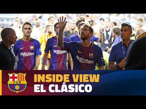 INSIDE TOUR | Behind the scenes: FC Barcelona - Real Madrid (ICC 2017) streaming vf