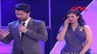 Download Atif Aslam and Himesh Reshammiya in a different avatar in SurKshetra Funny Moment   Video Dailymotio 3Gp Mp4