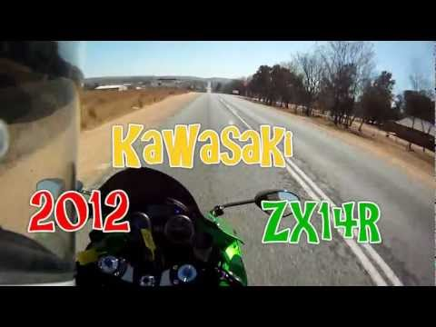 Bonding with the Beast - 2012 Kawasaki ZX14R / ZZR1400 Test ride, Part 1