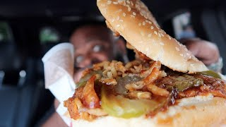 NEW BURGER KING PULLED PORK KING | SMASH or PASS?