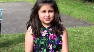 Funny Little Afghan Girl!!!