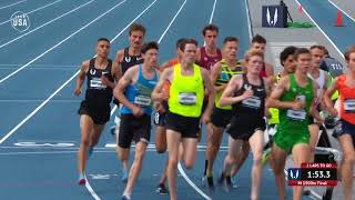 Matthew Centrowitz Wins Fifth Outdoor 1500-Meter Title