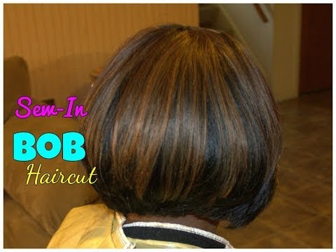 Bob Haircut   Sew-In Weave Tutorial