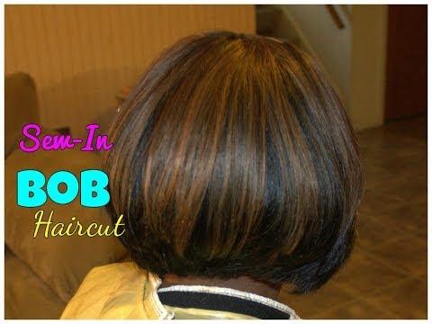 Bob Haircut   Sew-In Weave Tutorial