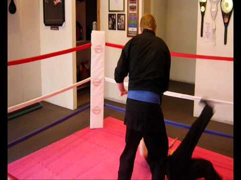 CLOSE QUARTERS COMBAT SANSHOU Defense against hook Image 1