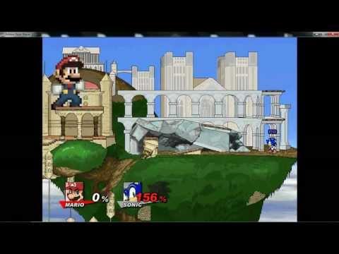 Super Smash Flash 2 v0.8a - Big and Small Glitch