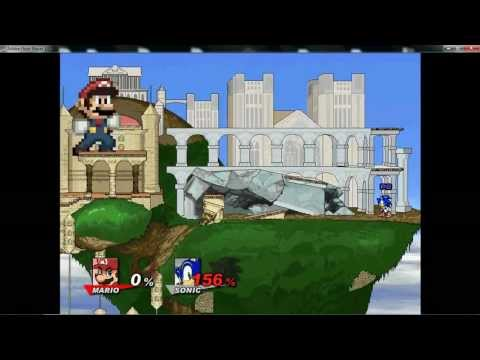 Super Smash Flash 2 v0. 8a — Big and Small Glitch